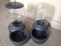 Water and Food Feeder for cats or dogs!!!