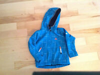 Manteau softshell 3-4 ans