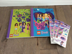 Ensemble de papeterie Lego Friends