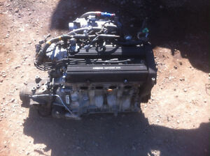 B18B1 engine and 5 speed man trans complete swap