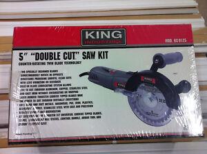 """King Tools 5"""" Double Cut Saw Kit KC-9125 LumberMart"""