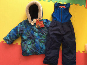 NEW with tags snowsuit, size 3T