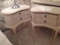 French style bedsides/ cabinets