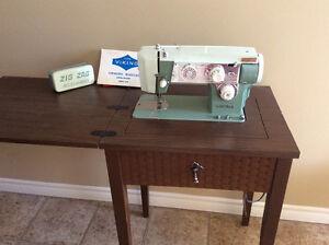 Viking sewing Machine and cabinet Belleville Belleville Area image 1