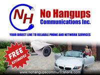 Security Cameras, Phone and Network Cabling, Phone Systems