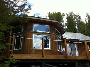 Quesnel Lake waterfront cabin for sale
