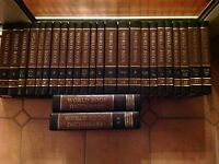 Full set of World Books encyclopaedias