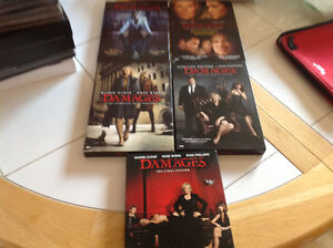 Damages complete DVD series