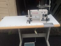 Seamstress industrial sewing machine with zig zag