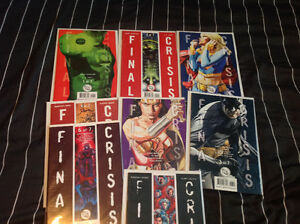 Selling Off My Final Crisis 28 Issue Set!! $60 GREAT DEAL!!