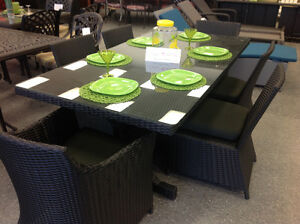7 Piece Outdoor dining set - New