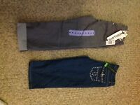 2 capris size 3 and 4. Brand new with tags.
