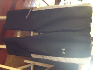 Under armour wind/gym pants