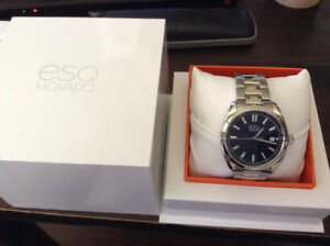 ESQ Movado watch Mens