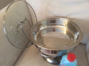 Chafing dish with gelled fuel Cambridge Kitchener Area image 2