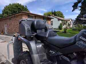 2009 can am outlander 500 cc legal 2 Up. Trailer and plow.