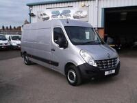 2014 14 RENAULT MASTER 2.3 LM35 DCI LWB 125 BHP 6 SPEED WITH SAT NAV IN SILVER