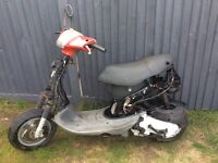 Piaggio zip 50cc full logbook starts and drives just need panels 250 ono