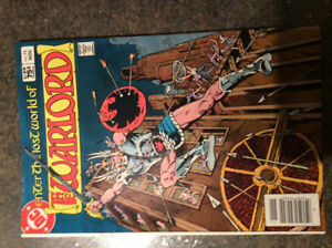 81 issues of DC's Warlord