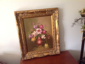 Beautiful Oil Painting/Circa 1960'S/MINT CONDITION
