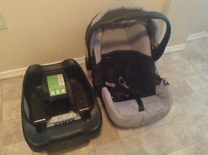 Eddie Bauer car seat with base PASSED HOSPITAL INSPECTION!