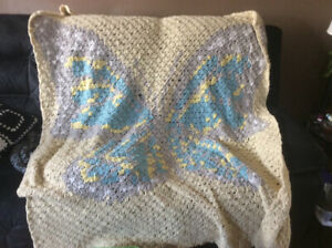 Butterfly  afghan