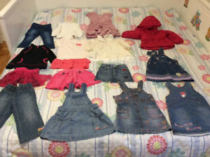 15 ps girl Clothes for just 35$