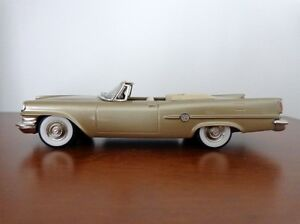 BROOKLIN BRK 41 1959 CHRYSLER 300E CONVERTIBLE GOLD