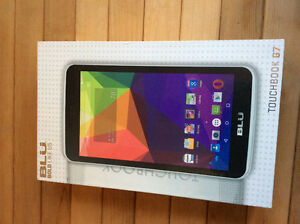 Blu 7 inch android cellphone