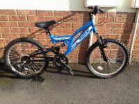 Childs Trax FS20 mountain bike