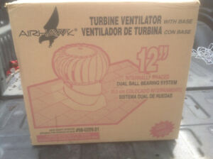 "12"" Turbine Ventilator with base"