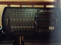 Alto Pbm mixer amp and hk Classic speakers PA system.