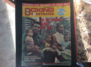 September 1976 Boxing illustrated magasine ( with Ali on cover)