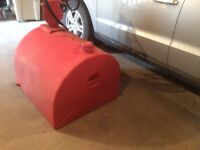 Moving sale Items! 50 gal Weststeel Rosco gas tank and hand pump