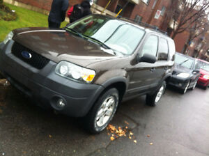 2006 Ford Escape VUS a qui la Chance 2850$