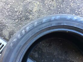 spare tyre size 265/50R 19