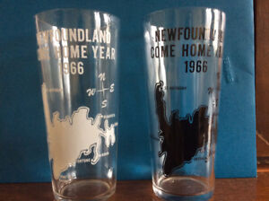Pair of 1966 Come Home Year Glasses
