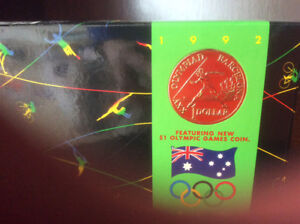 Australian 1992 Olympic Proof set of coins