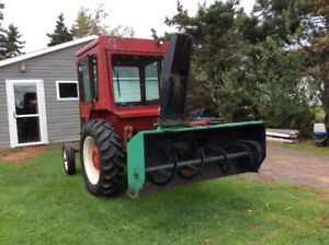 Tractor with Snowblower for Sale