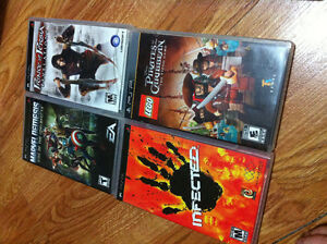 PSP W/ GAMES