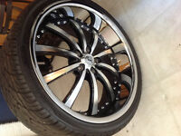 Lexani rims & tires x5