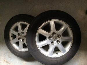 Goodyear Assurance m&s tires on Toyota rims
