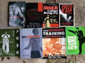 Fitness & martial art books
