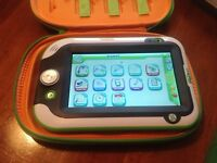 Leap pad ultra in padded carry case