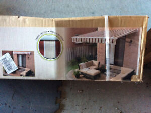 New Manual Retractable Awning - Unopened Box