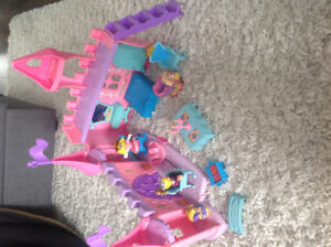 Jouet château princesse little people Fisher price