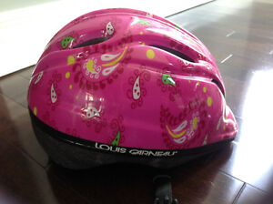 LOUIS GARNEAU GIRLS BIKE HELMET - SIZE S/M