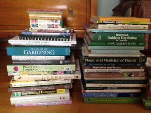 Gardening and landscaping books