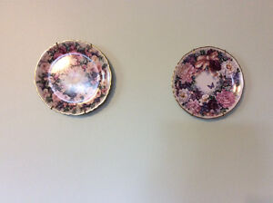 Lena Lui Floral collection decorative plates