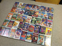 45 VHS Kids Movies-Most Disney